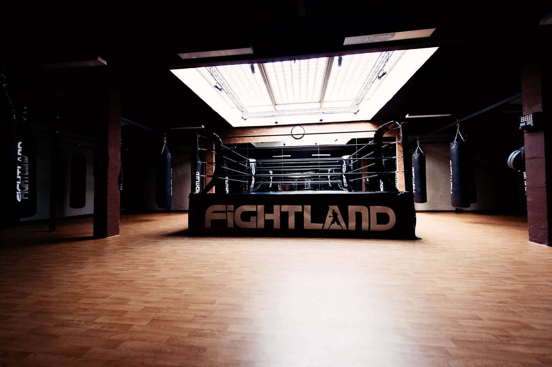 Fightland - Club Boxeo - Azca Madrid
