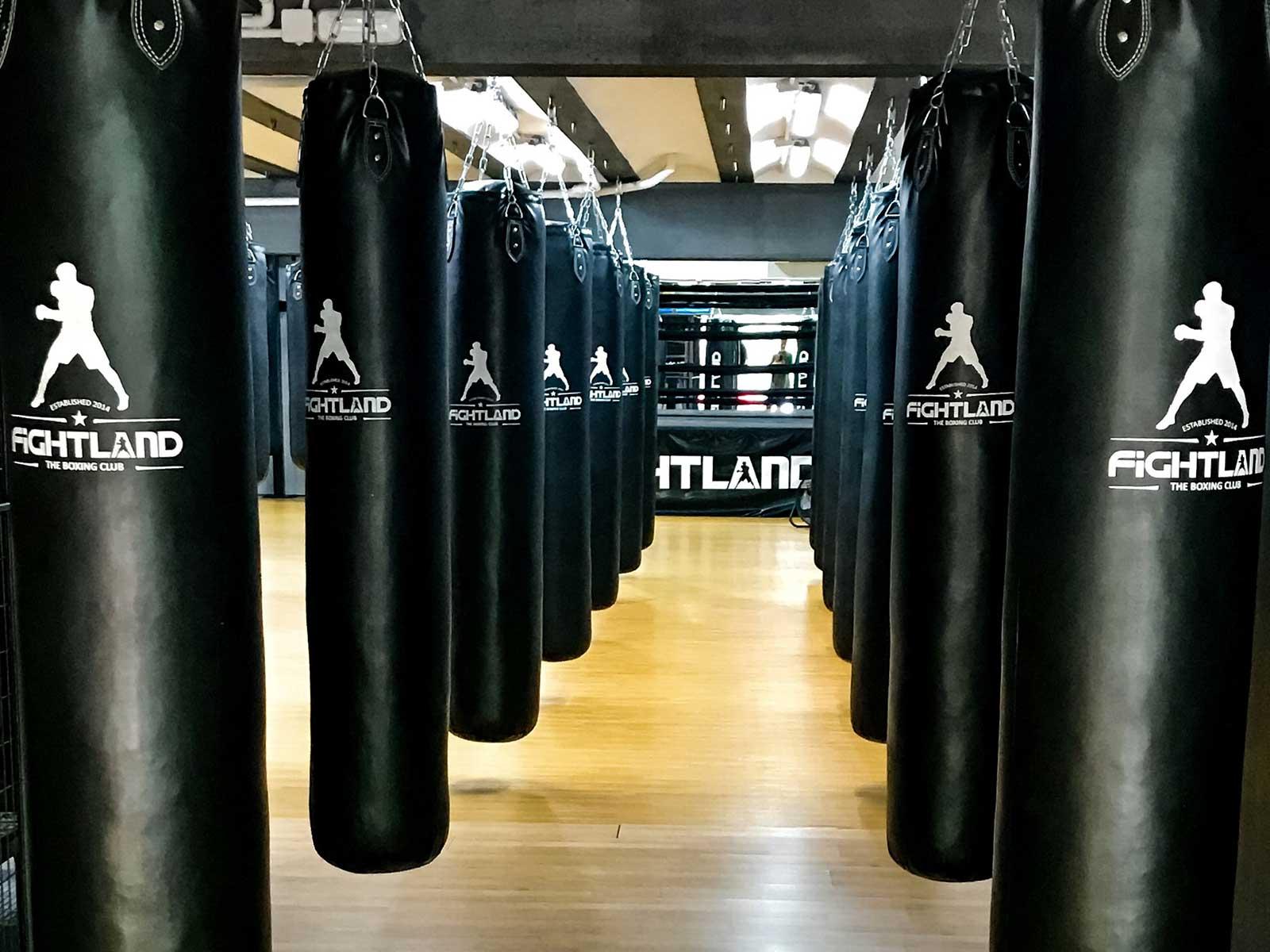 entrenamiento de boxeo en chamberi