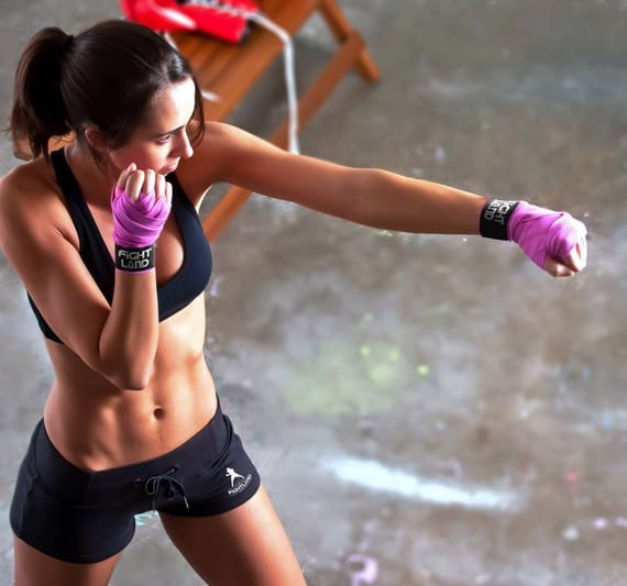 luchadores de boxeo para entrenar