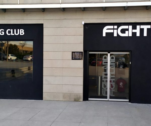 gimnasio fightland las rozas madrid